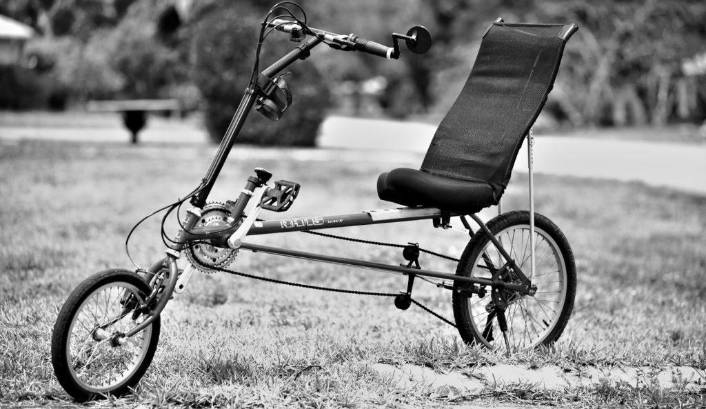 2-Wheeled Recumbent Bike