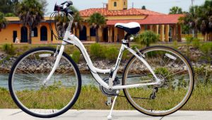 Womens 21-Speed Hybrid Bike