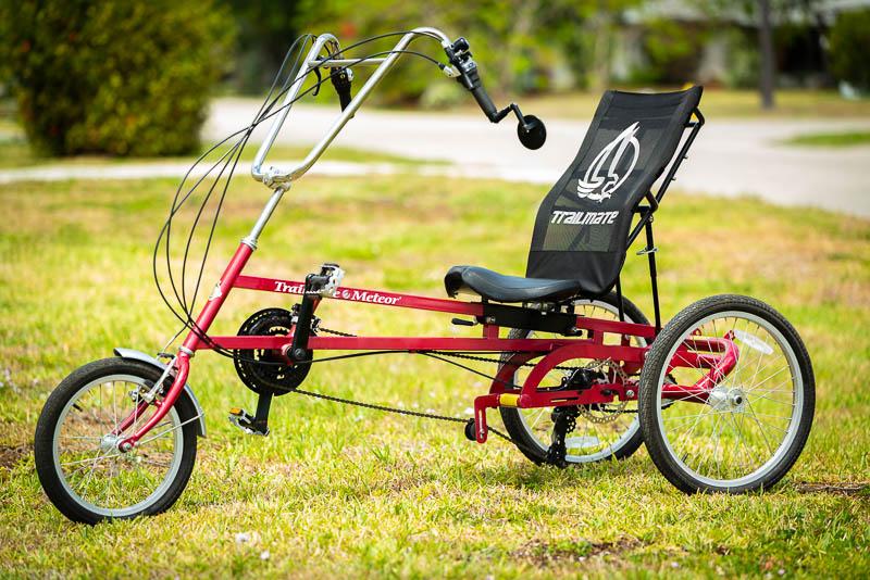 3-Wheeled Recumbent Trike